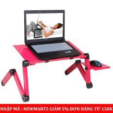 Bàn laptop đa năng – tích hợp quạt tản nhiệt, xoay 360 độ