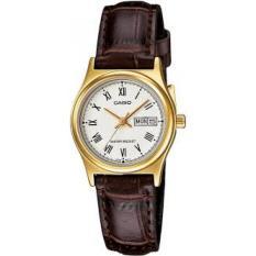 Đồng hồ nữ dây da Casio