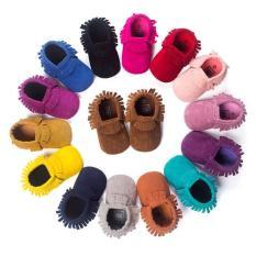 Giày tập đi da lộn cho bé trai và bé gái