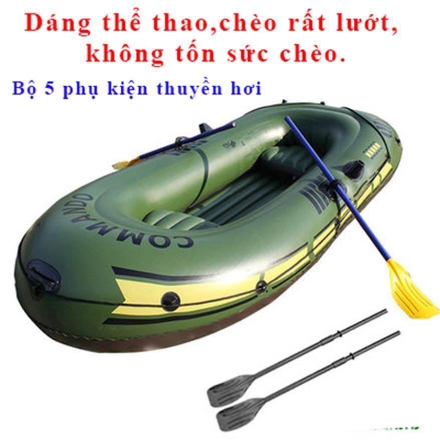 Thuyền Cao Su Bơm Hơi Intex, Thuyền Bơm Hơi Cao Cấp- Thuyền Phao Cho 2 Người Tặng Bộ 5 Phụ...