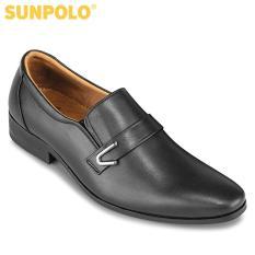Giày Tây Nam Da Bò SUNPOLO SUKT116DN (Đen, Nâu)