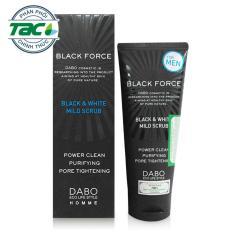 Sữa rửa mặt dành cho nam ngăn ngừa mụn dabo black force