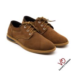 Giày da bò màu vàng bò : Giày VO VP09 3459