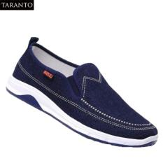 Giày vải lười nam TARANTO TRT-GLN-01-XD – Màu xanh đậm