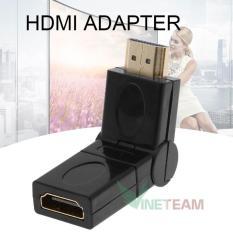 Đầu nối HDMI Quay 180 Độ – HDMI Adapter Cáp Cổng Kết Nối