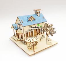 Đồ chơi lắp ráp gỗ 3D Mô hình Ocean Villas
