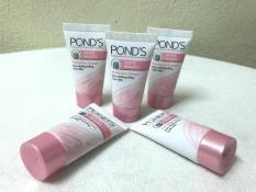 Combo 5 tuýt kem dưỡng trắng Pond's 8g + Tặng kèm 1 túi đựng mỹ phẩm xinh xắn