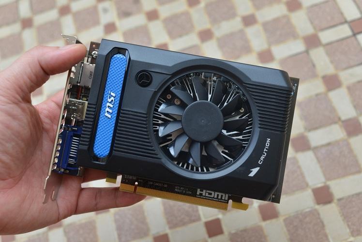 Đánh giá Card màn hình VGA MSI HD7730 1G DDR5 Tại Đức Chính Computer