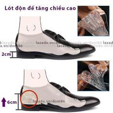 Lót giày độn đế tăng chiều cao 4cm – Freesize – 1 bộ dùng cho 1 đôi giày