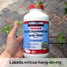 Viên Uống Bổ Xương Khớp Glucosamin Kirkland Mỹ 375 Viên [Date MỚI] – Hỗ trợ giảm đau, chống thoái hóa xương khớp