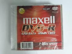Đánh giá Đĩa trắng DVD-R MAXEL 4.7GB 16X HỘP 1 CÁI Loại Tốt Tại TIN HỌC TIN KHOA
