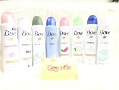 Bộ 3 Xịt Khử Mùi Toàn Thân Dành Cho Nữ Dove – 150ml x 3 (MÙI NGẪU NHIÊN)