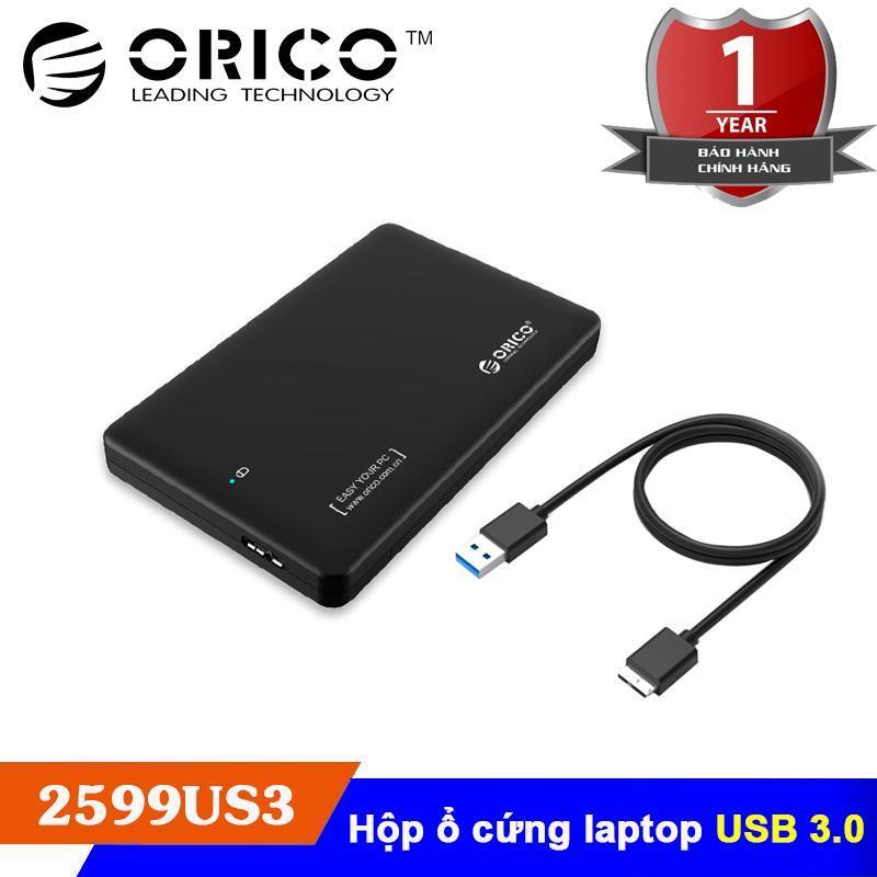 Bảng Giá Box HDD 2.5″ USB 3.0 Orico 2599US3-BK Tại Do Choi PC (Hà Nội)