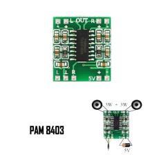 Mạch tăng âm Mini 5V PAM8403 3w x2