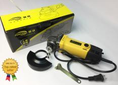 Máy mài máy cắt cầm tay Powcan 750W – Tặng 2 lưỡi cắt + 2 chổi than