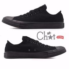 Giày Sneaker Classic Đen Full Cực Chất