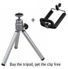 Chân đỡ máy ảnh mini + giá đỡ điện thoại