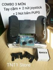 ( COMBO ) Tay cầm và Nút bấm chơi game PUBG , liên quân – Phiên bản mới nhất ( giá cực sốc )