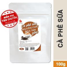Cà phê hòa tan 3in1 nguyên chất – Light Coffee – 100gr/gói