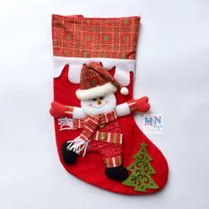 Vớ Người tuyết 40cm trang trí Giáng sinh – Noel