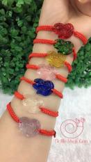 Vòng tay dây chỉ đỏ Hồ Ly phong thủy may mắn tình duyên