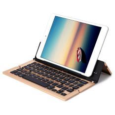 Bàn Phím bluetooth dùng cho điện thoại, ipad, máy tính bảng Keyboard kiêm giá đỡ PKCB-18 nhập khẩu cao Cấp 2018.