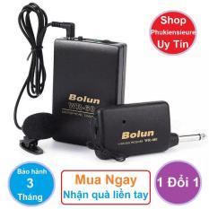 Bộ thu phát không dây cho micro BOLUN WR-601 – Bảo hành 1 đổi 1