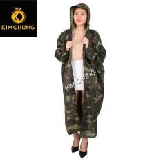 Áo mưa vải dù có dây kéo và nút gài, không thấm nước (được chọn màu) (có 2 size, được chọn size)