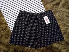 quần short kaki lưng cao co dãn size S M L XL XXL
