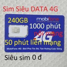 Sim 4G thần tài NOW(C90N) 240GB+1000 phút -0đ-chuẩn-QC