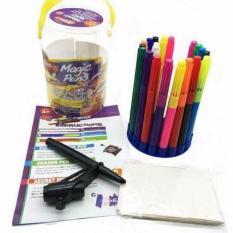 Bút màu thần kỳ đổi màu và xóa được Magic Pen mẫu mới