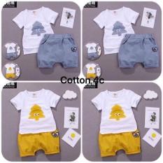 Set bộ đồ cotton cho bé iu