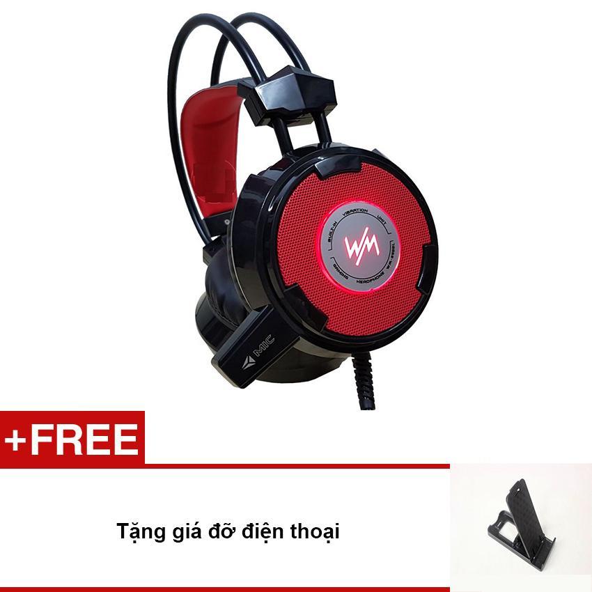 Nên mua Tai nghe gaming Wangming WM8900 (đen – tặng giá đỡ điện thoại) ở Watchtime Sài Gòn