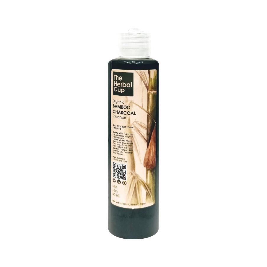 Gel Rửa Mặt Carbon TheHerbalCup Organic CARBON Cleanser 100ml