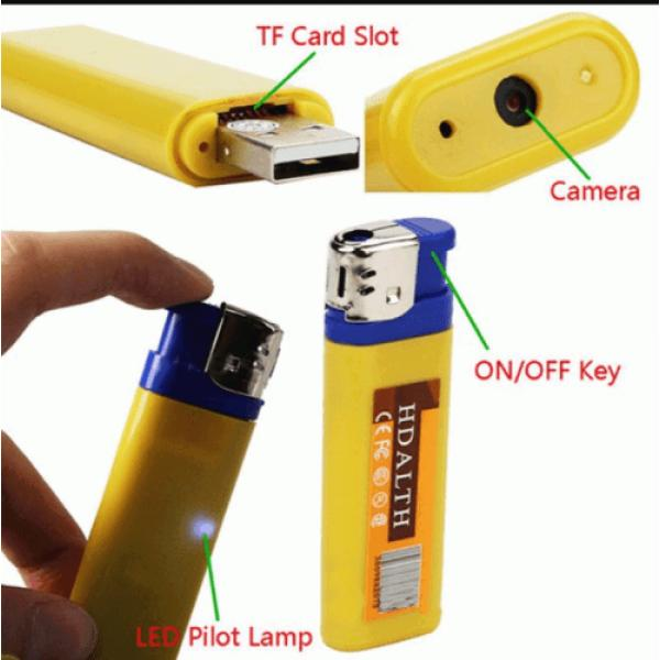 CAMERA HÌNH QUẸT GA LIGHTER DV