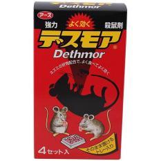 Thuốc diệt chuột Dethmor Nhật Bản_4 vỉ/hộp