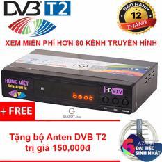 Đầu thu kỹ thuật số DVB-T2 HÙNG VIỆT TS-123 tặng kèm bộ phụ kiện