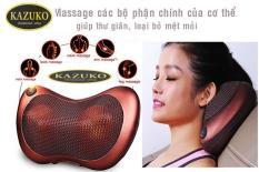 Gối Massage Hồng Ngoại Nhật Bản 6bi-12V Kazuko