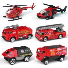 Bộ Mô hình 6 xe Cứu hỏa giống xe thật theo tỉ lệ 1:87 – Món quà ý nghĩa cho các bé trai