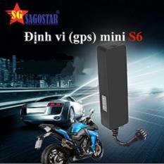 Thiết bị định vị xe máy GPS Mini S6 ĐỊNH VỊ GPS ÔTÔ/ MÔTÔ