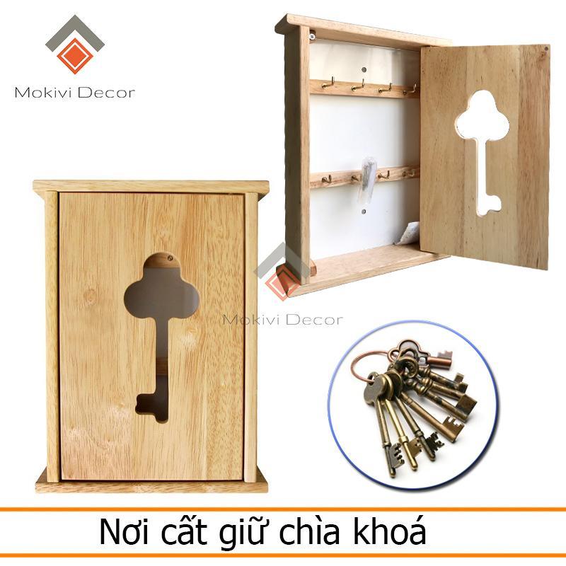 Tủ cất giữ chìa khoá tiện lợi – vật dụng tiện ích – lấy chìa khoá dễ dàng – tủ gỗ treo chìa khoá đẹp