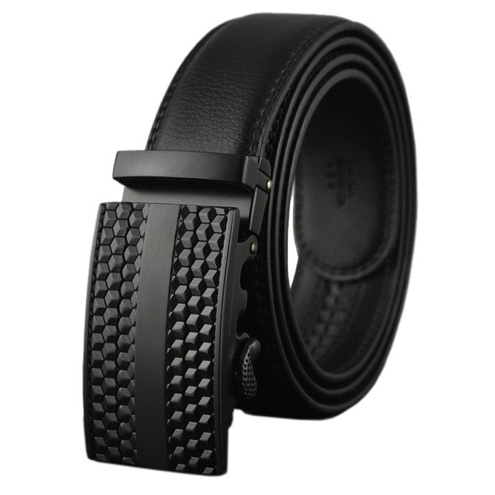 Thắt lưng nam da thật phong cách Hàn Quốc AT Leather – P101