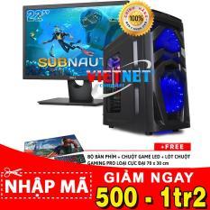 Máy tính chơi game G4600 GTX-1050Ti RAM 8GB 500GB + LCD Del 22 inch VietNet (chiến game Witcher 3, Subnautica, GTA 5, Batterground, LOL, Fifa v.v…)