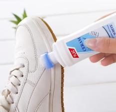 Chai xịt trắng giày Plac kèm đầu cọ (100ML)