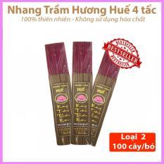 Compo 3 Bó Nhang Trầm Hương Huế Thiên Nhiên 100 Cây/Bó Loại 2 – 38cm