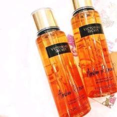 Xịt thơm toàn thân Victoria Secret 250ml Mùi Amber Romance