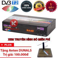 Đầu thu kỹ thuật số Hùng Việt DVB T2 TS123 – Tặng Anten khuếch đại