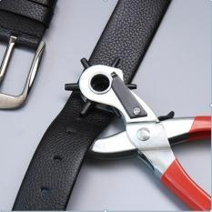 Kìm bấm lỗ dây nịt,dây da,dây đồng hồ (đỏ)