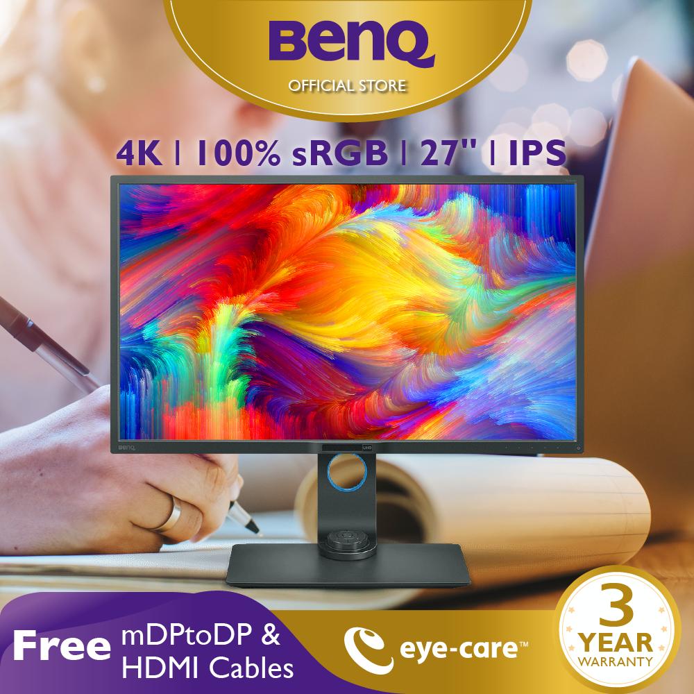 Màn hình máy tính BenQ PD2700U 27 inch 27 4K UHD 100% Rec.709 sRGB Color Space chuyên Đồ Họa xử lý hình ảnh