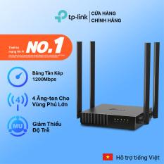 [Hàng hot mới về🔥]TP-Link Router wifi băng tần kép vùng phủ rộng Chuẩn AC 1200Mbps Archer C54 – Hãng phân phối chính thức Modem wifi TP Link Cục phát wifi TPLink